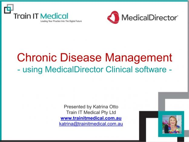 Chronic Disease Management Using MedicalDirector