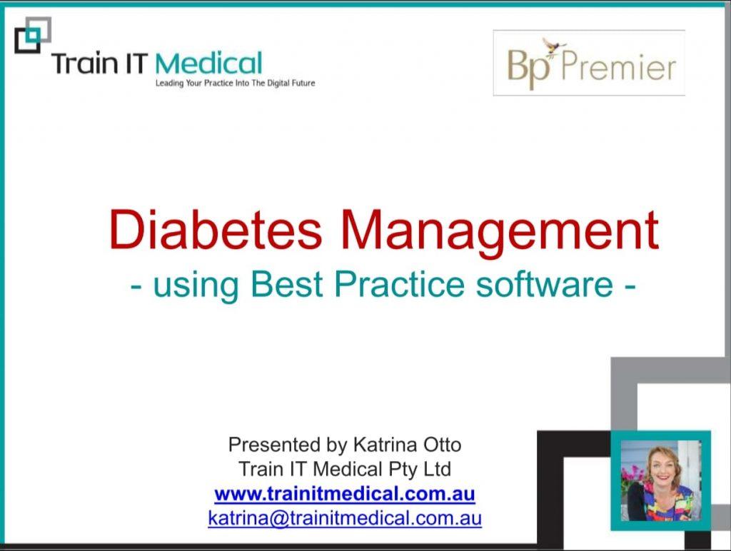 Diabetes Management Using Best Practice