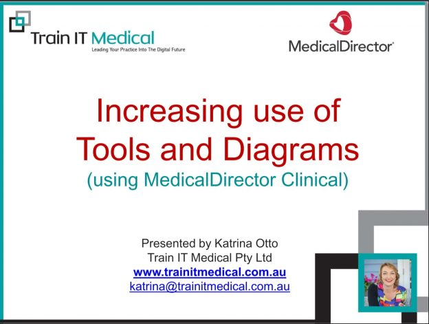 Increasing Use of Tools and Diagrams Using MedicalDirector