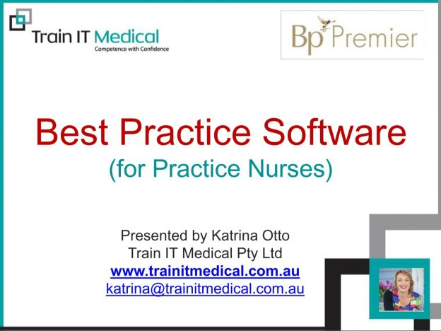 Best Practice Software for Practice Nurses